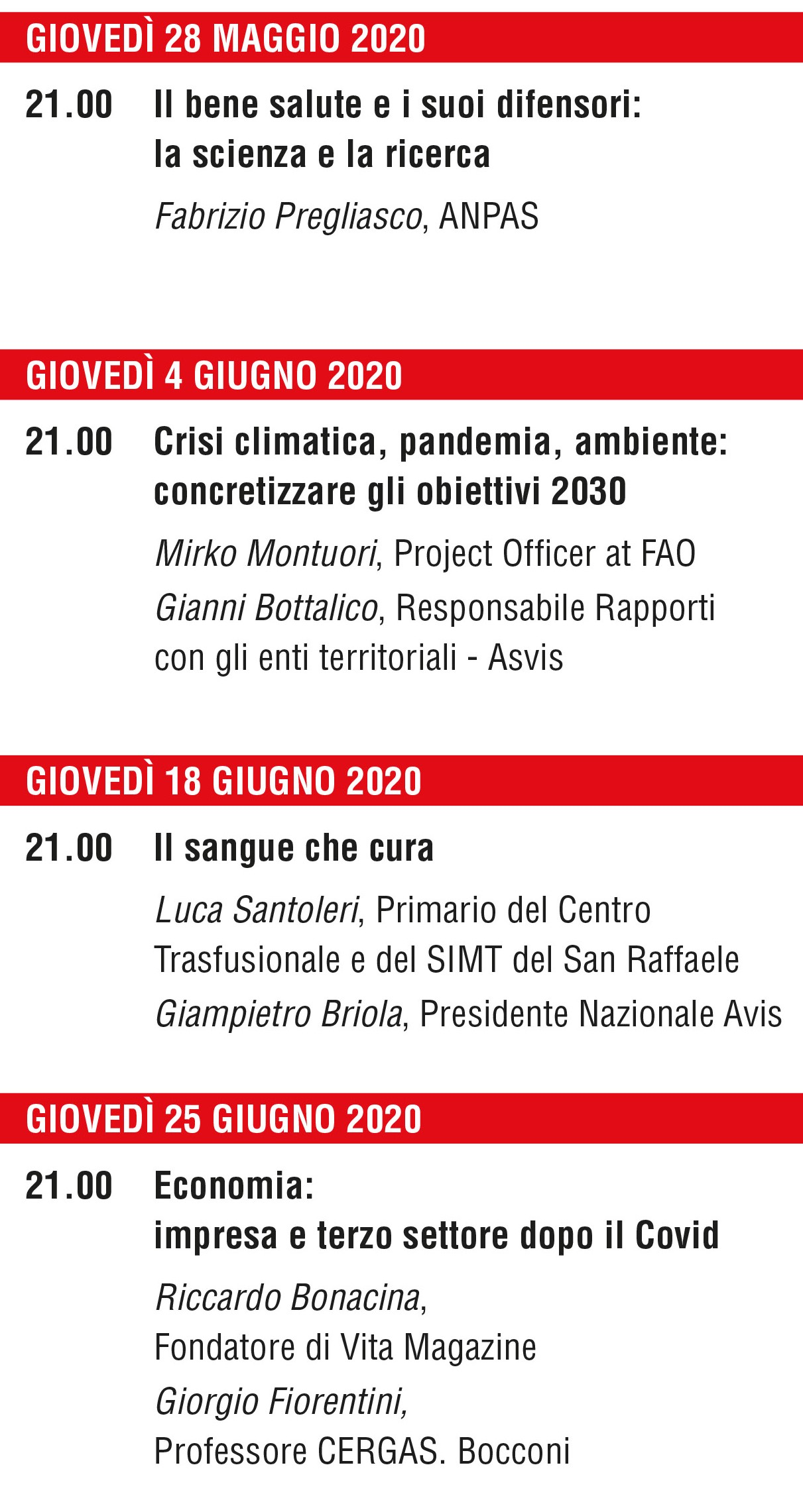 MemVarasi2020 Reloaded Relatori